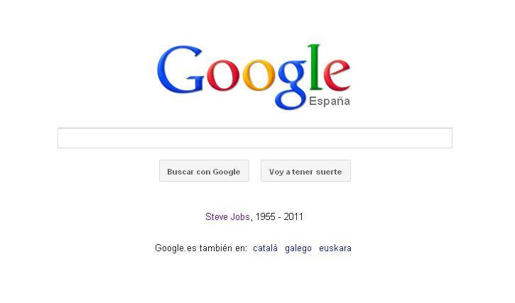 Google y Steve Jobs